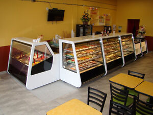 Full line of display cases, pastry bakery gelato deli meat fish Moose Jaw Regina Area image 2