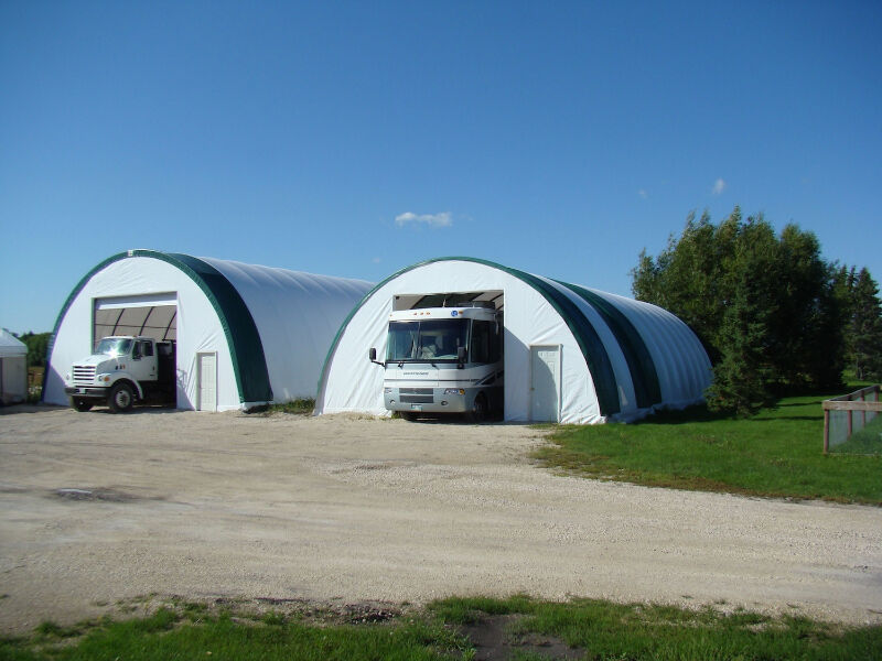 G&B Portable Fabric Buildings Summer Sale | Other | Dawson ...