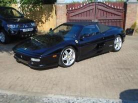 1998 R Reg Ferrari F355 F1 Spider NERO Black ( LHD )