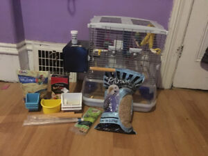 3-4 year old female budgie cage and accessories included