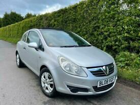 image for 2008 Vauxhall Corsa 1.2i 16V Breeze 3dr**LOW 48k MILES** PANORAMIC SUNROOF ** PX