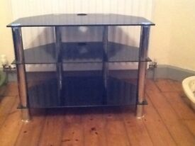 Black tv unit for sale