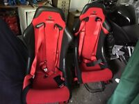 E30 corbeau forza bucket seats rare