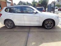 2014 64 BMW X3 2.0 XDRIVE20D M SPORT 5D 188 BHP 4X4 AWD 4WD DIESEL