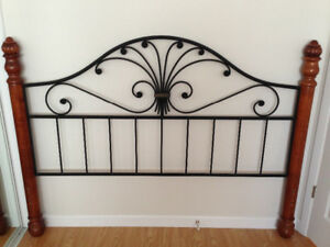 Moving sale, must sell, Queen Headboard, & Footboard