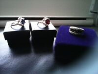 3 beautiful rings for sale