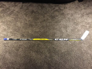 GAME USED Connor Mcdavid hockey stick with LOA