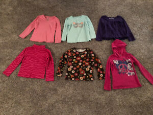 Long sleeved girls shirts size 5T
