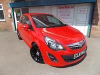 Vauxhall Corsa 1.4i 16v (100ps) (a/c) SRi Petrol Manual 3 Door Red 2012 (62)