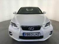 2014 LEXUS CT 200H LUXURY AUTO HYBRID 1 OWNER LEXUS SERVICE HISTORY FINANCE PX