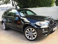 BMW 2009 X5 30d M-Sport XDrive 7 Seater 3.0 Diesel Automatic SUV in Black