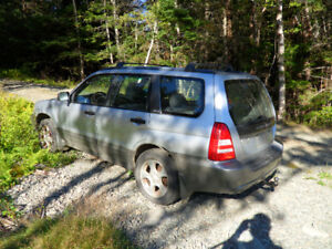 2004 Subaru Forester as is or for parts