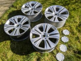 "5x120 22"" Range Rover Alloy Wheels 9.5J ET35"