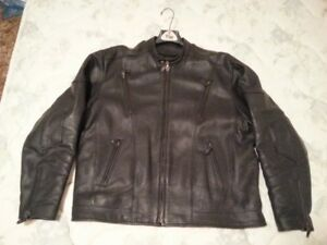 CLASSIC MOTORCYCLE JACKET - LEATHER - GREAT SHAPE
