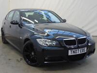 2007 BMW 3 Series 318I M SPORT Petrol black Manual