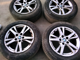 16 inch BMW alloy wheels for sale call today