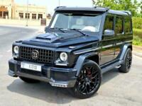2013 Mercedes-Benz G63 AMG BRABUS BODY KIT AND INTERIOR UPGRADE All Terrain Petr