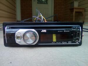 USB/MP3/CD Player JVC