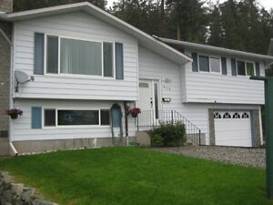 Logan Lake home on 1/4 acre lot with garage