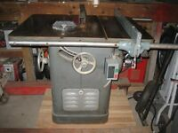 Rockwell 10 inch Unisaw Table Saw - 3 HP - 575 volt Motor