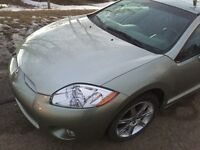 2008 Mitsubishi Eclipse GT Coupe (2 door) only 72000km!!