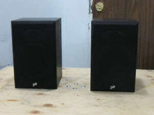Precision Acoustic Bookshelf Speakers