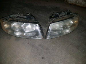 Audi a4 2002 - 2004 head lights assembly no ballast included