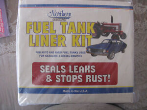 Fuel Gas Tank Prep Cleaner & Epoxy Liner Kit 12-20 Gallon