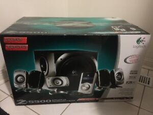 Logitech Z-5500 THX-Certified digital 5.1 Surround Sound System