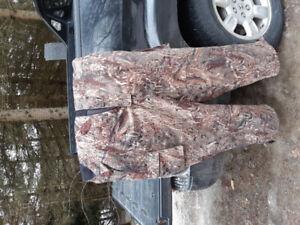 Mossy oak hunting bibs