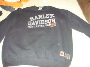 Harley Davidson men's sweat shirt