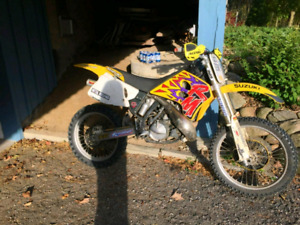 Suzuki rm250 with ownership