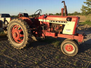 International 504  and Ford 9AA Tractor