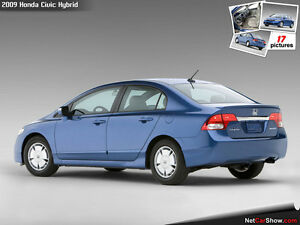 2009 Honda Civic Blue Sedan