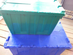 HEAVY DUTY BOXES...reusable storage anywhere you need