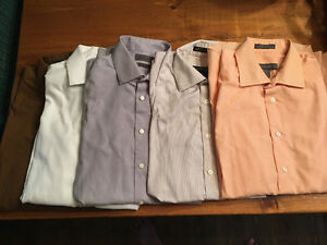 5 like new men's dress shirts from Moores