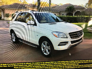 2012 Mercedes-Benz M-Class ML 350 BlueTEC SUV, Crossover