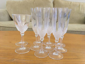 JD Durand Florence Wine Glasses & Fluted Champagne Glasses