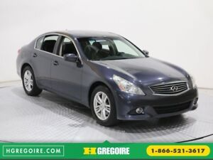 2011 Infiniti G37 Luxury AWD BLUETOOTH CUIR CAMERA RECUL TOIT OU