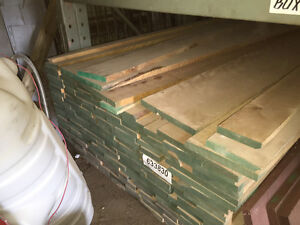 Funiture grade lumber finished on 2 sides - Birch