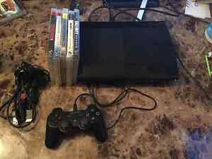 500GB PlayStation 3 system and games