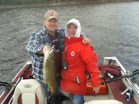 Guide de pêche sur le lac Mégantic