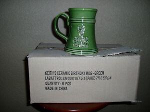 5 alexander keiths beer mugs
