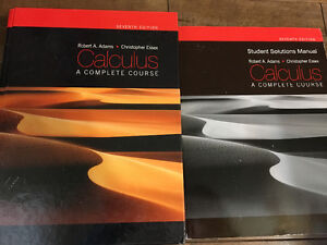 Calculus A Complete Course