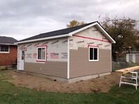 Siding soffit fascia windows doors roofing framing