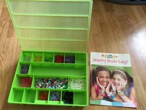 Rainbow loom storage box & book