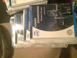 4th and 3rd class Panglobal full set of Power engineering books