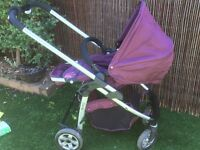 Icandy Cherry travel system - mulberry