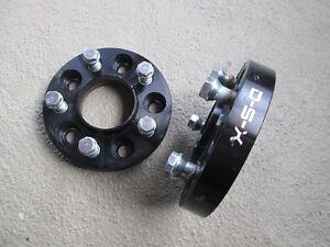 2X Wheel spacers 5X120 25mm d'épaisseur HubCentric 74.1mm