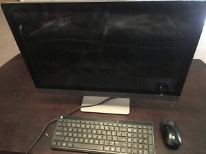 Hp all in one desk top. Touch screen